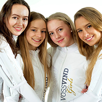 Picture of team VossVind Girls